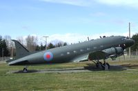 12944 - Douglas CC-129 Dakota 3 (C-47A), now painted as EZ671. at Comox Air Force Museum, CFB Comox - by Ingo Warnecke