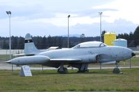 133102 - Canadair CT-133 Silver Star (T-33) at Comox Air Force Museum, CFB Comox