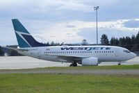 C-GWCQ @ CYQQ - Boeing 737-6CT of WestJet at Comox Airport