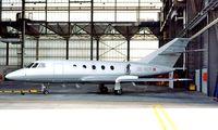 OE-GCR @ LOWW - Dassault Falcon 20D [191] Vienna-Schwechat~OE 20/06/1996