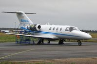 N665CH @ EGHH - Receiving attention at Citation Centre - by John Coates
