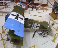N43SB - Siegfried Bredl Fokker Dr I replica at the Pearson Air Museum, Vancouver WA