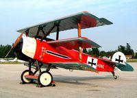 I-LYNC @ LIPU - Fokker Dr.1 (replica) [01/84M] Padova~I 16/07/2004
