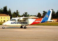 I-SEPA @ LIPU - Partenavia P.68 Victor [08] (Air Colombia) Padova~I 16/07/2004