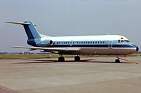 PH-SIX @ EHAM - Fokker F-28-4000 Fellowship [11092] (NLM CiyHopper) Amsterdam-Schiphol~PH 14/06/1980. Image taken from a slide.