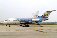 PK-HNK @ WIII - Fokker F-28-3000R Fellowship [11129] (Gatari Air Service) Jakarta - Soekarno Hatta International~PK 26/10/2006