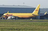 G-DHLJ @ EGNX - DHL B767F at East Midlands