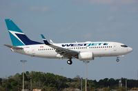 C-FWBG @ KFLL - Westjet arriving in warm FLL - by FerryPNL