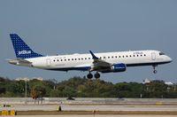 N197JB @ KFLL - ERJ190 landing - by FerryPNL