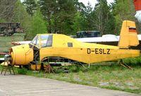 D-ESLZ @ EDAV - LET Z-37A Cmelak [15-14] Finow~D 05/05/2002