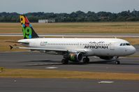 5A-ONA @ EDDL - A320 ready to depart for Tripoli - by FerryPNL