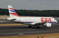 OK-MEK @ EDDL - CSA A319 taxiing - by FerryPNL