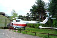 D-HOXA @ EDAV - Mil Mi-8T [10501] Finow~D 05/05/2002. Seen here unmarked.