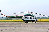 D-HZPA @ EDDB - Mil Mi-2 Hoplite [538117033] (German Polizei) Berlin-Schonefeld~D 06/05/2002 - by Ray Barber