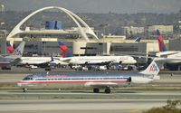 N9630A @ KLAX - Taxiing to gate