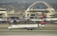 N804SK @ KLAX - Taxiing to gate - by Todd Royer