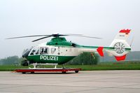 D-HSNC @ EDDC - Eurocopter EC.135T1 [0092] (German Polizei) Dresden~D 07/05/2002 - by Ray Barber