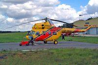 SP-WXU @ EPZP - Mil Mi-2 Hoplite [514045035] (Polish Air Rescue) Zielona Gora~SP 16/05/2004