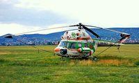 HA-BCF @ LHBS - Mil Mi-2 Hoplite [5111202011] (Aerocaritas Alpitvany) Buadors~HA 15/06/1996