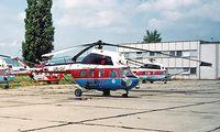 OM-OIP @ LZIB - Mil Mi-2 Hoplite [528524014] (Slov-Air) Bratislava-M R Stefanik~OM 21/06/1996