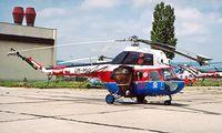 OM-MIO @ LZIB - Mil Mi-2 Hoplite [527735072] (Slov-Air) Bratislava-M R Stefanik~OM 21/06/1996