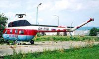 OM-PIQ @ LZIB - Mil Mi-2 Hoplite [529310065] (Slov-Air) Bratislava-M R Stefanik~OM 21/06/1996