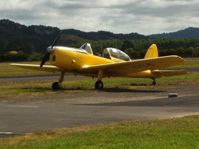 ZK-CVM @ NZAR - Old yellow chippy - by magnaman