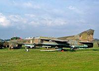 20 62 @ ETHT - Mikoyan-Gurevich MiG-23UB Flogger C [A1037901] Cottbus~D 06/05/2002