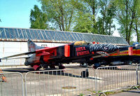 3646 @ LKKB - Mikoyan-Gurevich MiG-23MF Flogger [0390213646] Prague-Kbely~OK 08/05/2002 - by Ray Barber