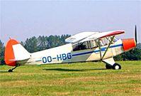 OO-HBG @ EBDT - Piper PA-18-95 Super Cub [18-3228] Schaffen-Diest~OO 17/08/2002