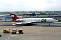 LZ-MIS @ EDDF - Tupolev Tu-154M [90A-863] (VIA-Air VIA Bulgarian Airways) Frankfurt~D 10/05/2002 - by Ray Barber