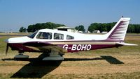 G-BOHO @ EGBP - Piper PA-28-161 Warrior II [28-8016196] Kemble~G 13/07/2003