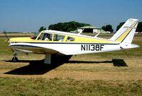 N1138F @ EGBP - Piper PA-28R-200 Cherokee Arrow [28R-35260] Kemble~G 13/07/2003 - by Ray Barber