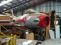 A94-922 @ NZAR - In back of hangar at Ardmore awaiting restoration. - by magnaman