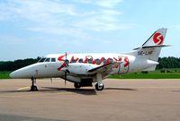 SE-LHF @ ESOW - BAe Jetstream 3201 [855] (Skyways) Vasteras~SE 30/05/2002