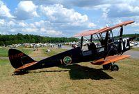 SE-AMR @ ESKB - De Havilland DH.82A Tiger Moth [ASJA49] Barkarby~SE 01/06/2002 - by Ray Barber