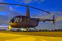 N100TV @ KTOA - Sitting on the tarmac at Robinson Helicopter - by Damon J. Duran - phantomphan1974