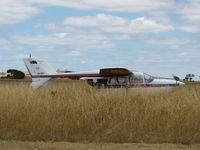 VH-GKY @ YBSS - This Skymaster looks like it has been parked here at Bacchus Marsh for some time from the length of the grass around it.