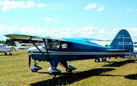 SE-CUR @ ESKB - Piper PA-22-150 Tri-Pacer [22-7453] Barkarby~SE 01/06/2002