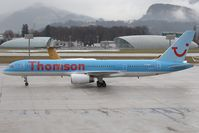 G-OOBJ @ LOWS - Thomson 757-200 - by Andy Graf - VAP