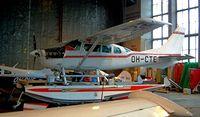 OH-CTE @ EFHF - Cessna TU.206G Turbo Stationair [U206-06883] Helsinki-Malmi~OH 14/05/2003