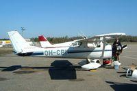 OH-CBI @ EFTU - R/Cessna F.150J [0448] Turku~OH 15/05/2003