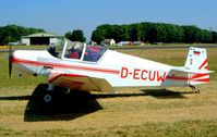 D-ECUW @ EGBP - Wassmer Jodel D.120R Paris-Nice [157] Kemble~G 13/07/2003 - by Ray Barber