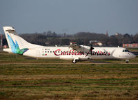F-WKVE @ LFBO - C/n 1021 - Stored aircraft from ATR... Intended by Caribbean Airlines... - by Shunn311
