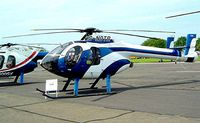 G-NOTR @ EGSX - McDonnell Douglas MD.520N NOTAR [LN018] North Weald~G 16/05/2002