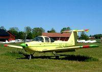 SE-LBU @ ESKC - Piper PA-38-112 Tomahawk [38-79A0606] Uppsala-Sundbro~SE 29/05/2002