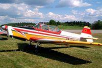 SE-XLA @ ESKB - Zlin Z.526F Trener Master [1150] Barkarby~SE 01/06/2002