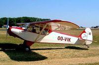 OO-VIK @ EGBP - Piper PA-18-95 Super Cub [18-5822] Kemble~G 13/07/2003