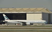 B-KPE @ KLAX - Taxiing to gate - by Todd Royer