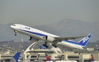 JA732A @ KLAX - Departing LAX - by Todd Royer